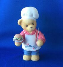"Enesco Cherished Teddies ""Dennis"" 510963 Priscilla Hillman 1998 Figurine No Box"