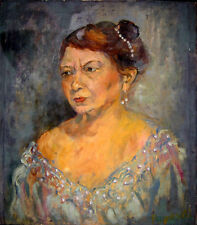 Portrait painting of a woman