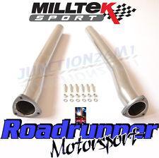 Milltek Decat Pipes RS3 8v / Audi TTRS MK3 Secondary Cat Bypass Fits OE SSXAU588
