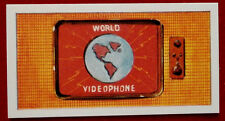 STINGRAY - Card #08 - VIDEOPHONE - CADET SWEETS (1964) - Gerry Anderson