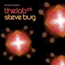 STEVE BUG =the lab 02= Trentemöller/Koze...=2CD= DEEP HOUSE MINIMAL TECH HOUSE !