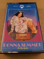 Donna Summer : Greatest Hits : Vintage Cassette Tape Album