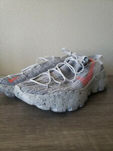 "NEW Nike Space Hippie 04""This is Trash"" Gray Orange Shoes Men's Size 13"