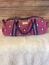 Sloane Ranger Owl Pink Blue Duffle Bag Weekender