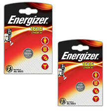 GENUINE ENERGIZER 2X 1616 CR1616 3V LITHIUM COIN CELL BATTERY DL1616 BR1616
