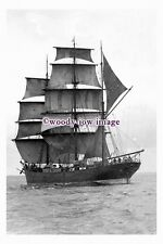 rs0118 - UK Sailing Ship - Rona ex Polly Woodside , built 1885 - photograph