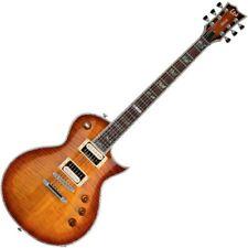 ESP Ltd EC-1000FM ASB Amber Sunburst E-Gitarre | Neu