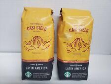 Starbucks CASI CIELO 2 lbs Whole Bean Coffee Medium Roast, BB: 2/2020