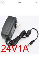 US Plug AC100-240V to DC 24V 1A Power Supply Charger Converter Adapter 5.5mm GBM