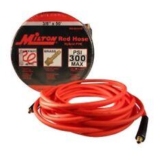 "Milton Red Hybrid PVC Hose 3/8"" X 50' With 1/4"" NPT MILMA3850OR Brand New!"