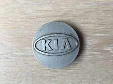 1X KIA ORNAMENTAL ALLOY WHEEL CENTRE HUB CAP EMBLEM BADGE PLASTIC