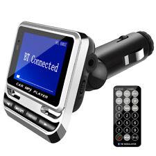 "1,4"" KFZ Auto FM-Transmitter MP3-Player SD-Card USB DC 12V Zigarettenanzünder DE"