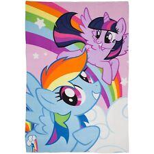 My Little Pony Equestria Print Fleece Blanket Large 100cm X 150cm