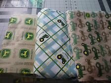 John Deere flannel Fabrics for Dog Belly Bands Male Dog Carol's Crate Covers
