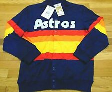 MITCHELL & NESS MLB 1986 HOUSTON ASTROS AUTHENTIC SWEATER JERSEY SIZE 48 XL