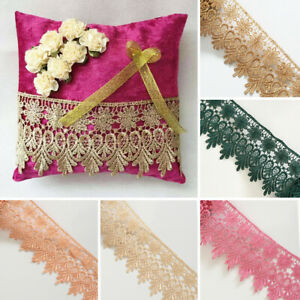 Guipure Venice Lace Trim Bridal Upholstery Boho Vintage Sewing Craft DIY Crown