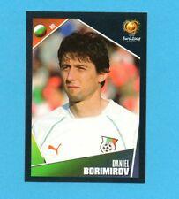 PANINI-EURO 2004-Figurina n.209-BORIMIROV-BULGARIA-NEW BLACK