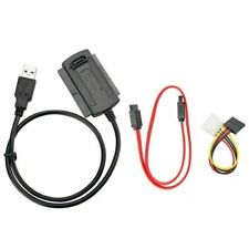 USB 2.0 TO IDE SATA ATA 2.5 3.5 HARD DRIVE DISK CABLE ADAPTER HDD CONNECTOR LEAD
