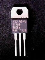BTA08-600BW- ST Microelectronics Triac (TO-220)