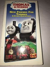 Thomas & Friends-New Friends for Thomas VHS-TESTED-RARE VINTAGE-SHIPS N 24 HOURS