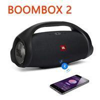 JBL Boombox 2 Portable Bluetooth Waterproof Speaker Black Bass Rechargeable