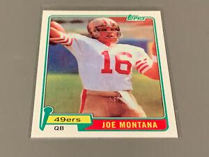 2010 Topps Anniversary Reprints Joe Montana San Fran 49ers ROOKIE Card #216 EX