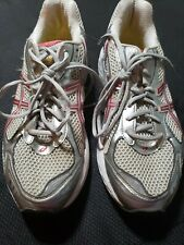 ASICS SOLYTE DUOMAX GT- 2150 WOMEN'S ATHLETIC SILVER PINK SNEAKER US 11 T055N D
