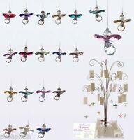 GENUINE Austrian Crystal Guardian Angel BIRTHSTONE Sun-catcher Hanging Charm UK