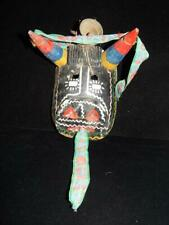 ANTIQUE VINTAGE MEXICAN COW MASK - VERY OLD PIECE W/ NICE DETAILS - A+++++