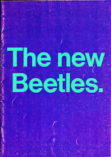 Volkswagen Beetle 1968-69 UK Market Sales Brochure 1200 1300 1500 Convertible