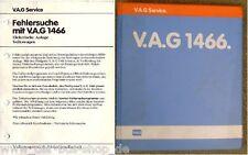 Vw passat - 78-88 - réparation Guide-équipement électrique vag 1466