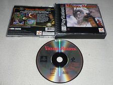 PLAYSTATION PS1 VIDEO GAME VANDAL HEARTS  RARE KONAMI  RPG ROLE PLAYING PS2 >>