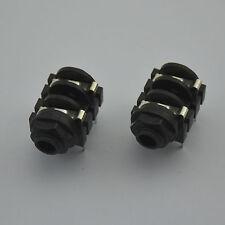 "2PCS 6.35 mm (1/4"") Female Mono Jack Socket Panel PCB Welding,free shipping new!"