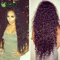 USA Fas Ship Pre Plucked Curly Lace Front Wigs Human Hair Wigs With Baby Hair