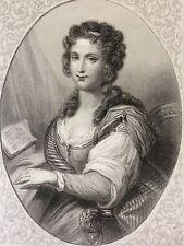 Madame de Warens de la Tour du Pil maîtresse de Jean-Jacques Rousseau 1863
