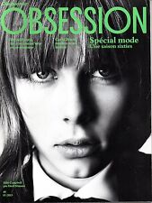 OBSESSION 2013: EDIE CAMPBELL_KURT COBAIN_WOODKID_THE BOLCHOÏ affair_DAVID BOWIE