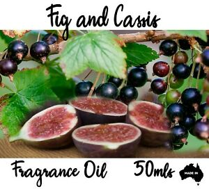 FIG AND CASSI PROFESSIONAL GRADE FRAGRANCE OIL, 50 ML - CANDLES, DIFFUSERS