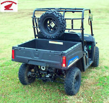 """POWER RIDE  SPARE TIRE CARRIER FOR ATV'S CARTS UTV'S 36"""" TO 50"""" WIDE"""