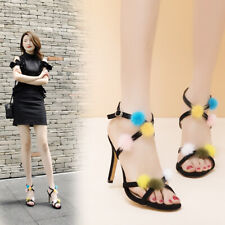 Girls Catwalk sandals women's fashion high heels shoes party slingbacks summer