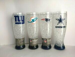 NFL Crystal Freezer Pilsner 16 oz Refreezeable Beer Mug
