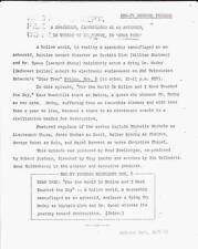 1968 NBC STAR TREK press release THE WORLD IS HOLLOW AND I HAVE TOUCHED THE SKY