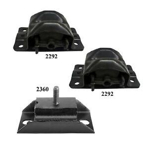 3PCS Motor & Trans Mount FIT 1982-1987 Fits Gmc CABALLERO 5.0L
