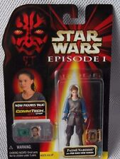 STAR WARS 1998  EPISODE I  (Collection 1)  PADME NABERRIE Figure & CommTech Chip