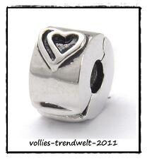 Marken Bead - Modul *Element für Beads Armband/Kette * Elemento - Clip Stopper 3