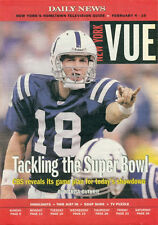 TV GUIDE - VUE - 2006 - PEYTON MANNING - INDIANAPOLIS COLTS QUARTERBACK - NFL