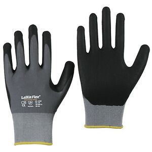12 Paar LeiKaFlex 1466 Montagehandschuhe Handschuhe Arbeitshandschuhe