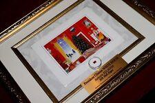 BILL & HILLARY CLINTON WHITE HOUSE Xmas Card, Frame, Red Room JFK artifact, COA