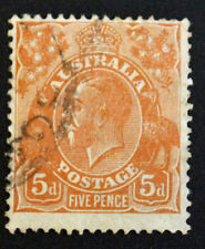 Timbre AUSTRALIE / Stamp AUSTRALIA Yvert et Tellier n°74 obl (Cyn22)