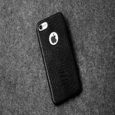 For iPhone 6/6s BLACK crocodile leather Cover Anti-drop TPU Phone case R