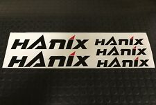 HANIX STYLE 5 PACK DECAL SET FOR MINI DIGGER EXCAVATOR